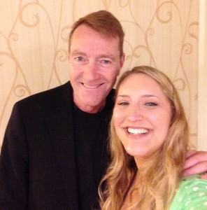 Lee Child and Dana 2014