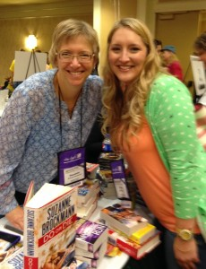Suzanne Brockmann and Dana 2014